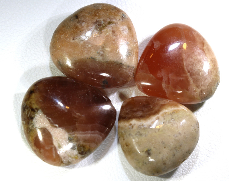 60 CTS RHODOCHROSITE  BEADS 2 PIECES  NP-251