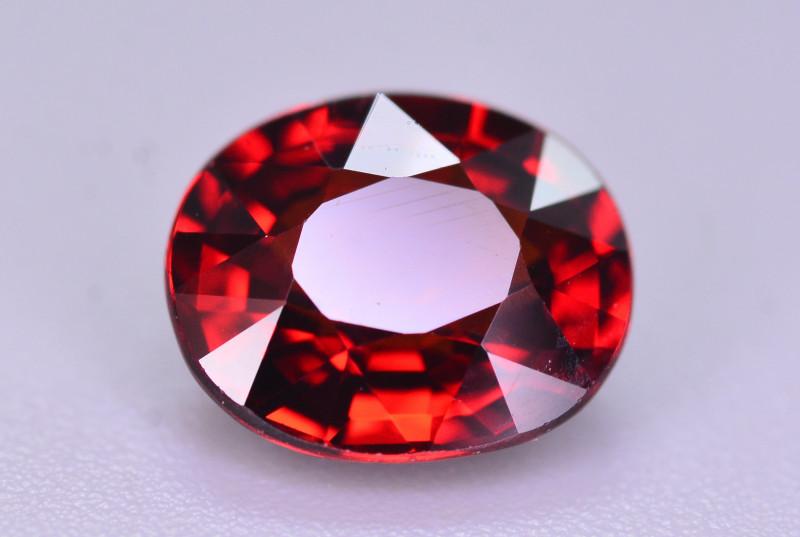 Reddish Orange Color 1.75 Ct Natural Spessartite Garnet.