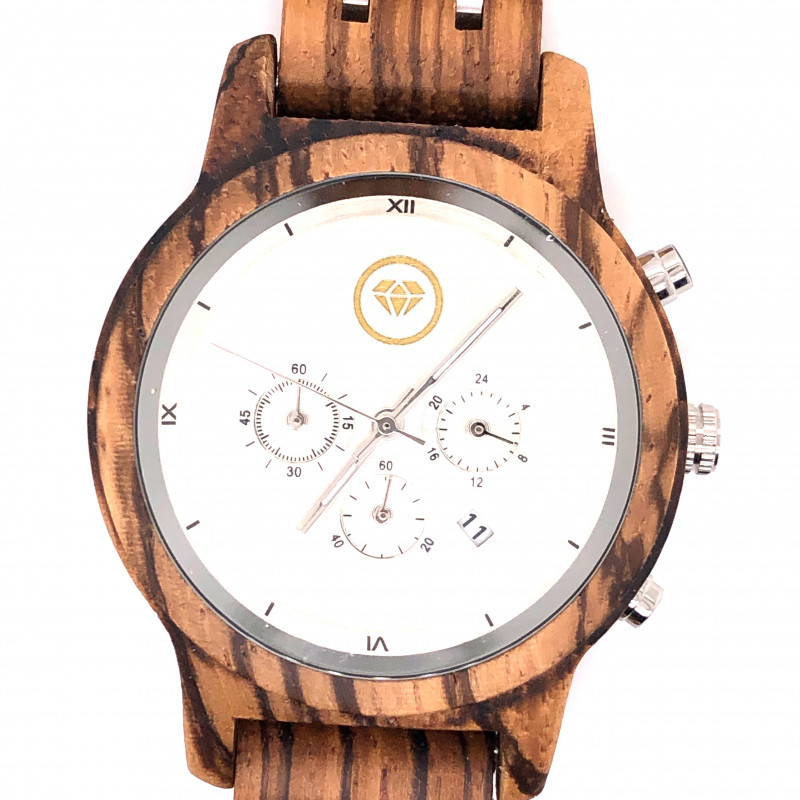 Female Treasures Eco Friendly Bamboo watch WO 166