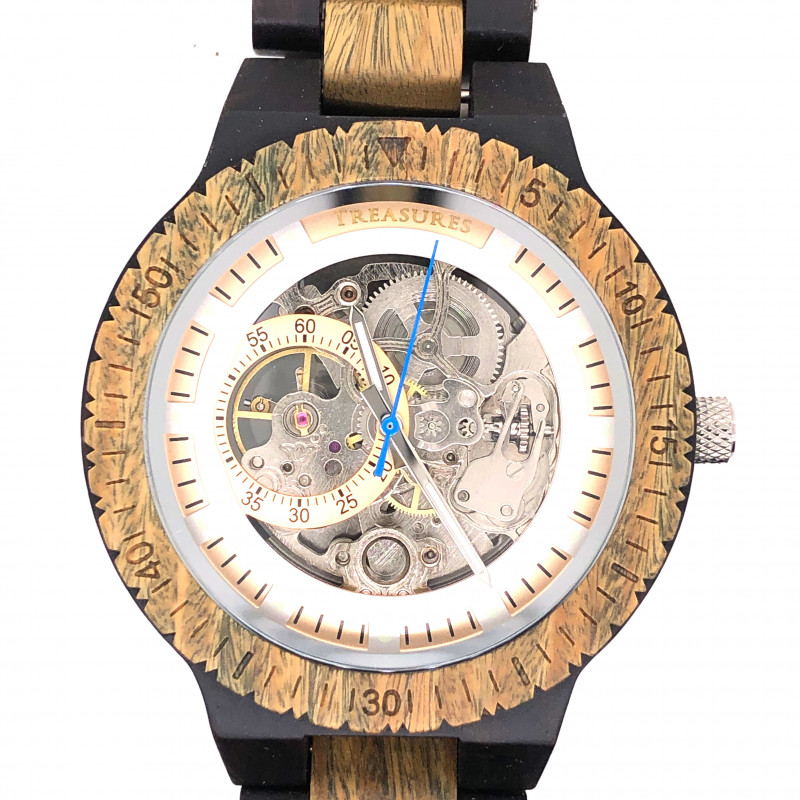 Treasures Eco Friendly Bamboo watch WO 172
