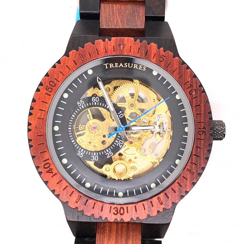 Treasures Eco Friendly Bamboo watch WO 175