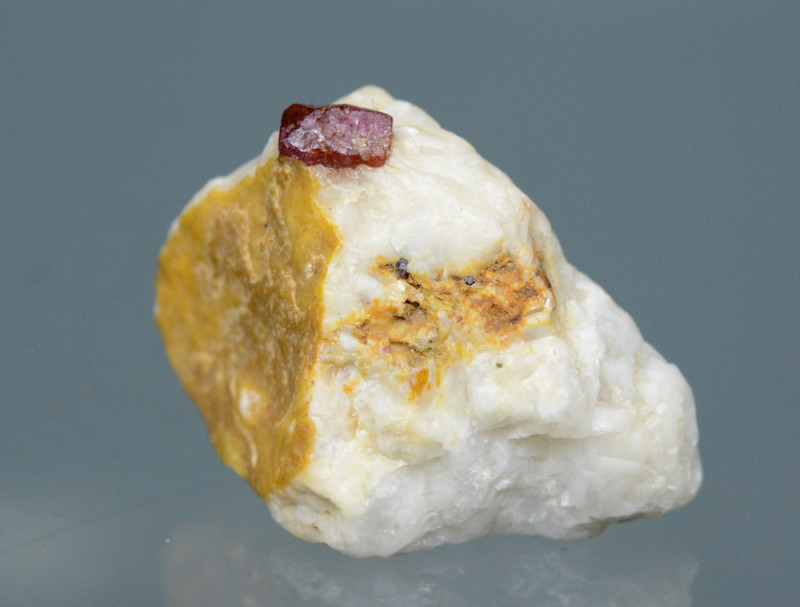 109 CT Gorgeous Ruby With Calcite@Pakistan