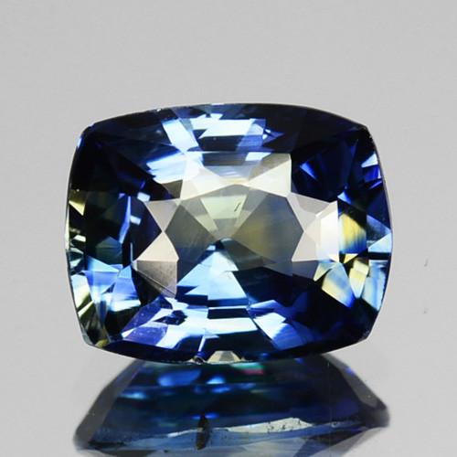 1.16 Cts Natural Corundum Sapphire Bi-Color SriLanka Unheated Gem (Video Av