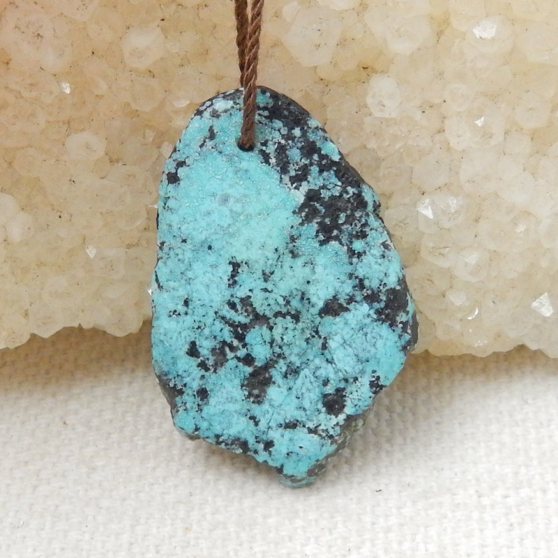 16.5cts Nugget Turquoise ,Handmade Gemstone ,Turquoise Nugget Pendant ,Luck