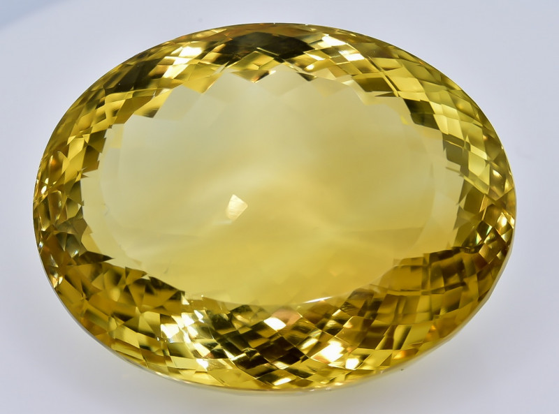 138.05 Crt Natural Madeira Citrin Facetted Gemstone