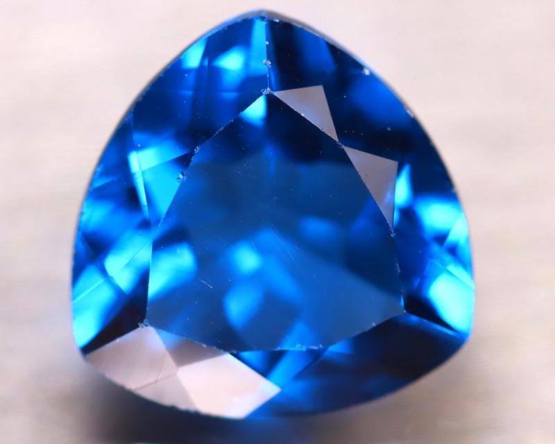 Fluorite 9.84Ct Natural IF Vivid Bule Color Change Fluorite EN03/A49