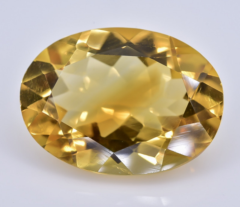 10.15 Crt Natural Citrine Faceted Gemstone.( AB 01)