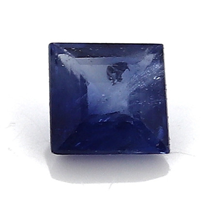 0.05 Carat Princess Cut Blue Sapphire