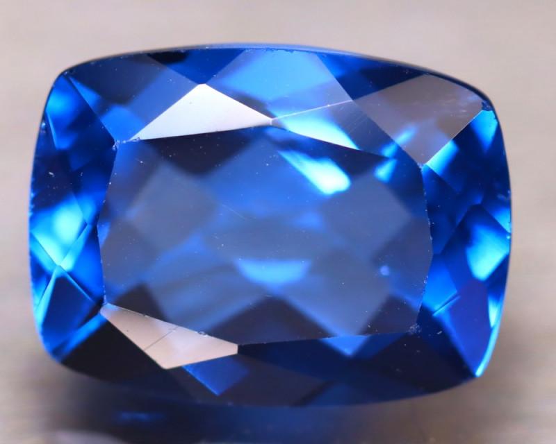 Fluorite 13.15Ct Natural IF Vivid Bule Color Change Fluorite EN07/A49