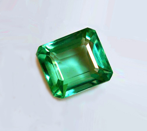 Top Of The Line!  1.38 ct Emerald Certified!