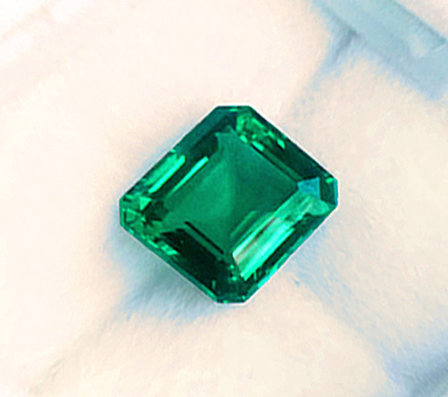 Magnificent High-End Stone!  2.97 ct Emerald Certified!