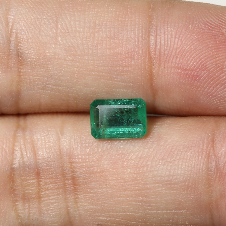 1.52ct Lab Certified Zambian Emerald