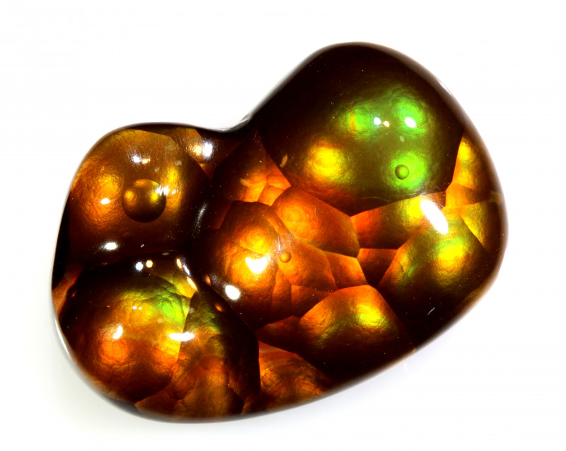 9.70 CTS  - MEXICAN FIRE AGATE  TBM-2128