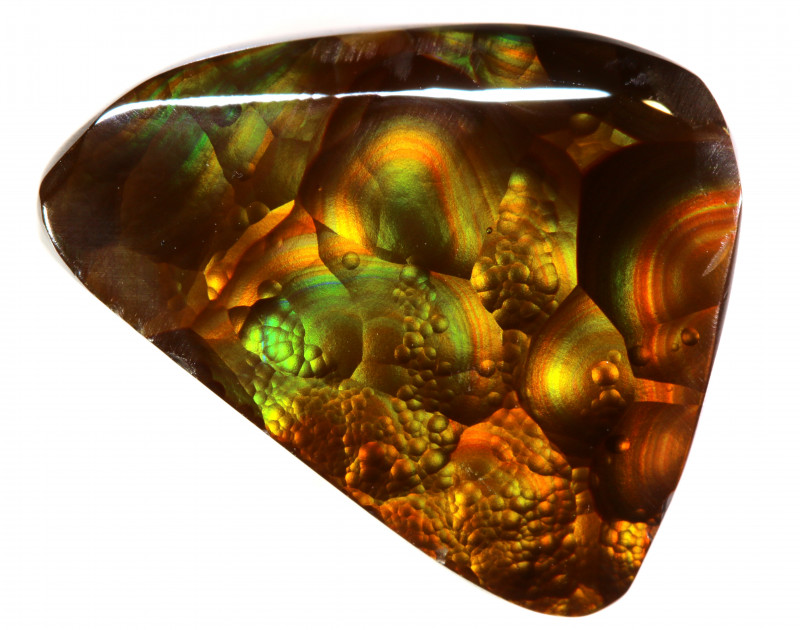 8.90 CTS  - MEXICAN FIRE AGATE  TBM-2138