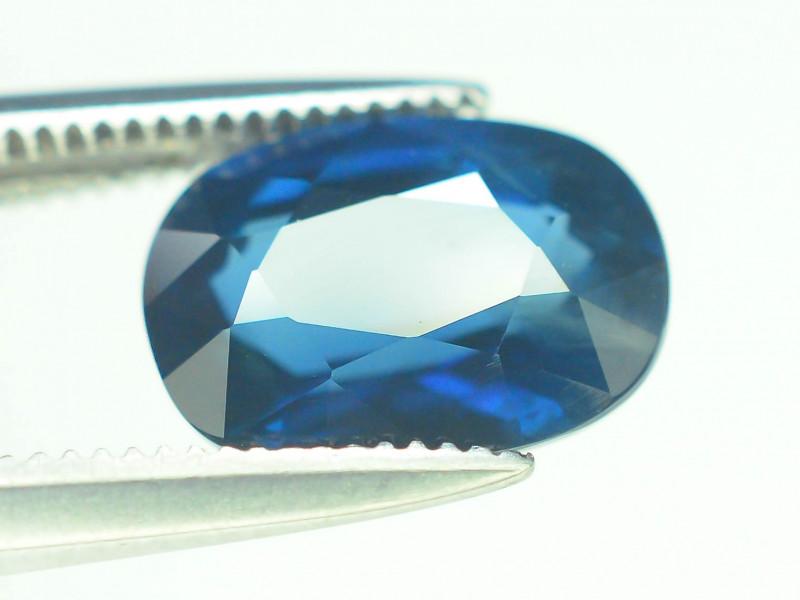 AIG Certified Top Grade 2.62 ct Blue Sapphire
