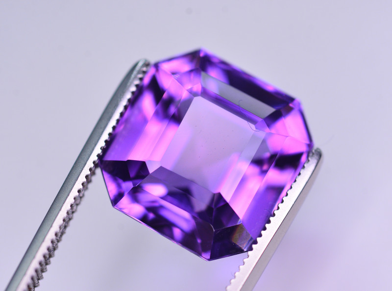 7.60 Ct Sparkling Color Natural Amethyst ~ Uruguay