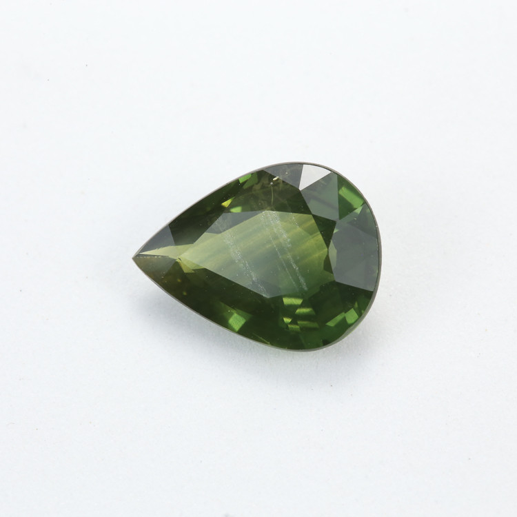 3.96ct Natural Green Sapphire