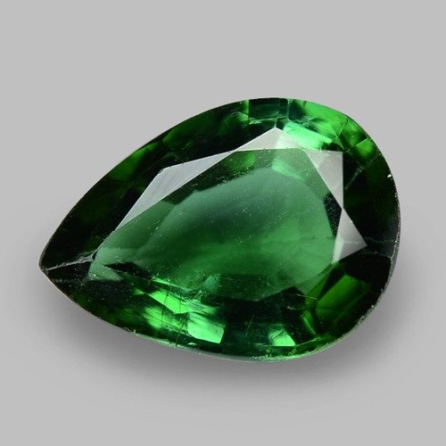 1.92 Cts Unheated Fancy Yellowish Green Natural Tourmaline Gemstone