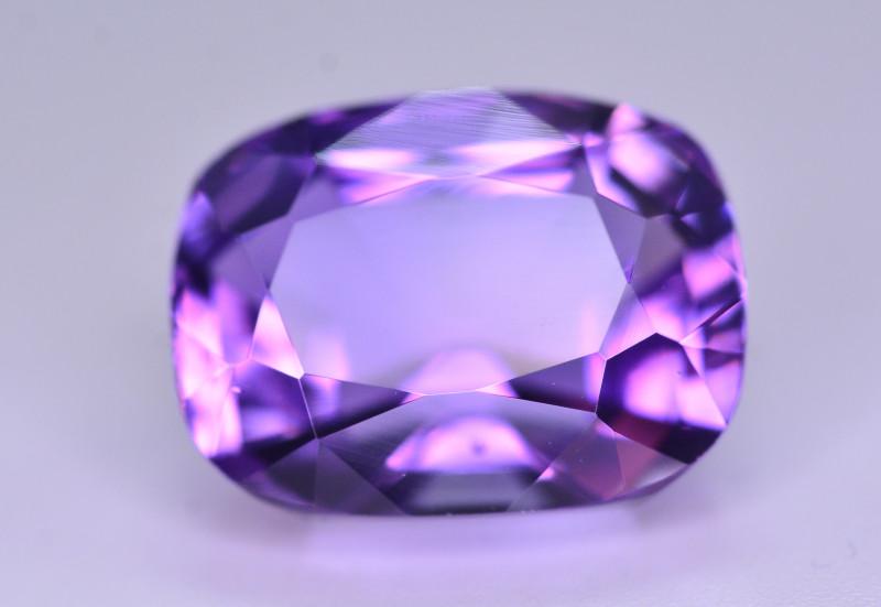 10.65 Ct Sparkling Color Natural Amethyst ~ Uruguay