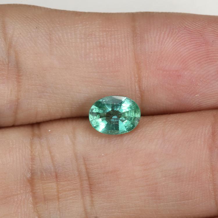 1.07ct Lab Certified Zambian Emerald