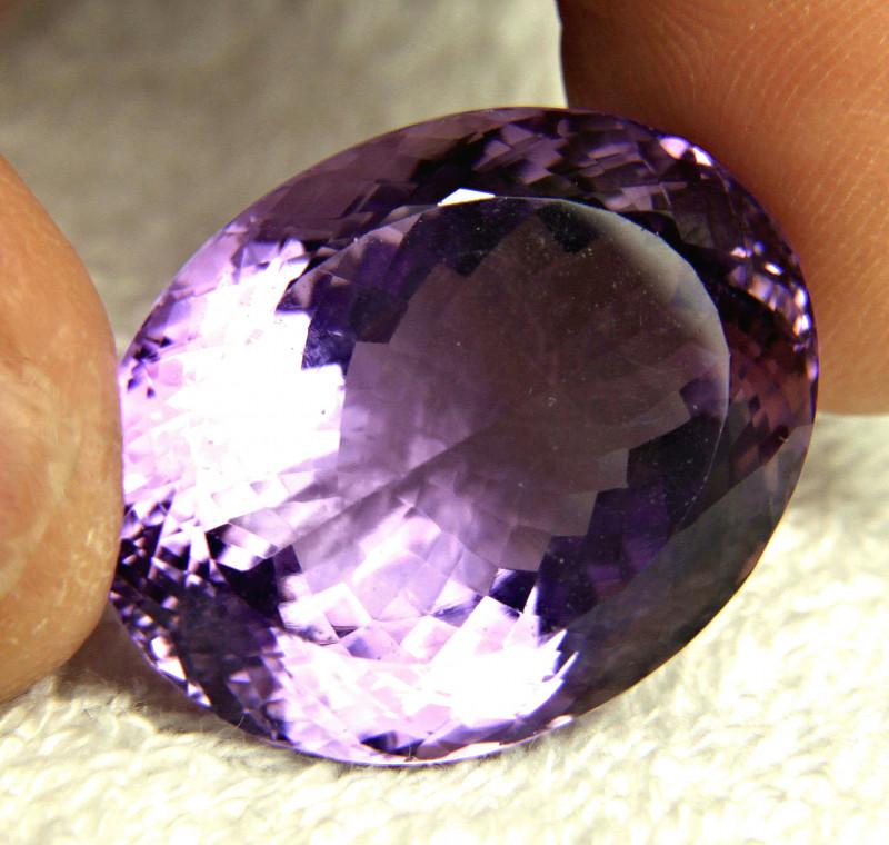 60.6 Carat VVS/VS  Brazilian Purple Amethyst - Gorgeous