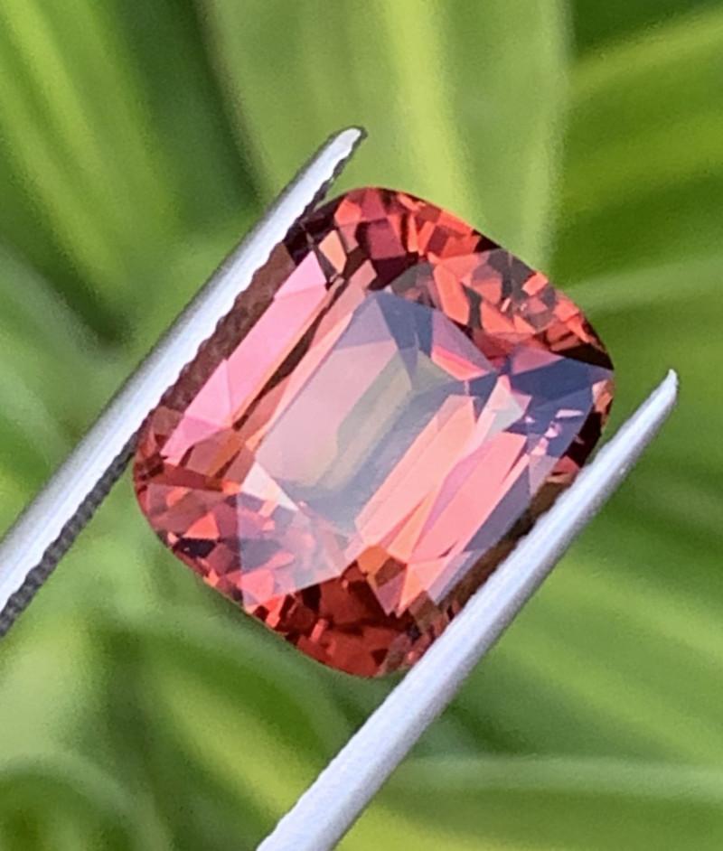 7.55 Carats Natural Red Color Tourmaline Gemstone