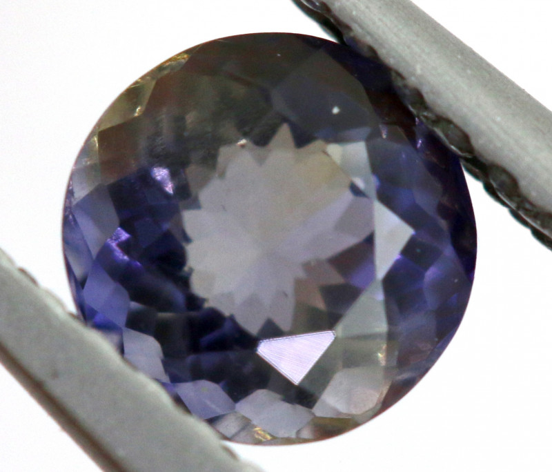 0.53 CTS  IOLITE NATURAL FACETED GEMSTONE RNG-477