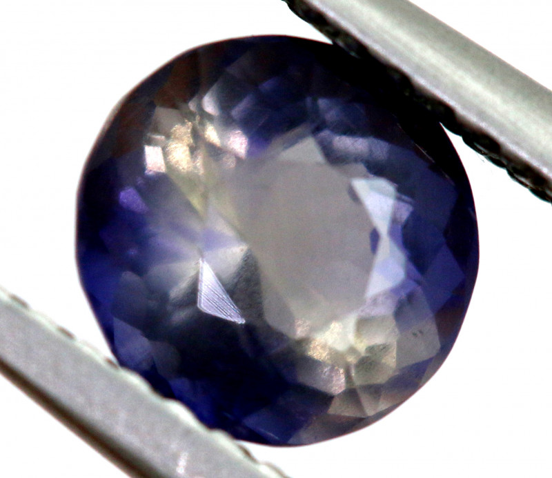 1.11 CTS  IOLITE NATURAL FACETED GEMSTONE RNG-480