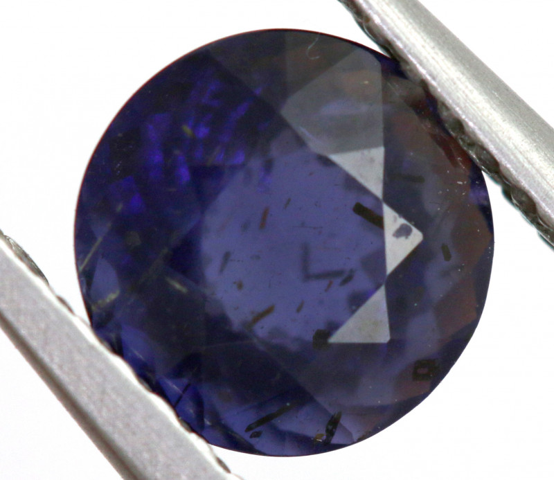 0.97 CTS  IOLITE NATURAL FACETED GEMSTONE RNG-486