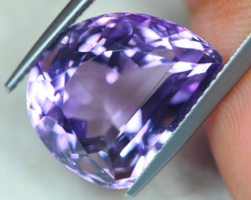 11.33ct Natural Purple Amethyst Fancy Cut Lot V5326
