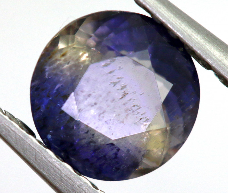 0.96 CTS  IOLITE NATURAL FACETED GEMSTONE RNG-500