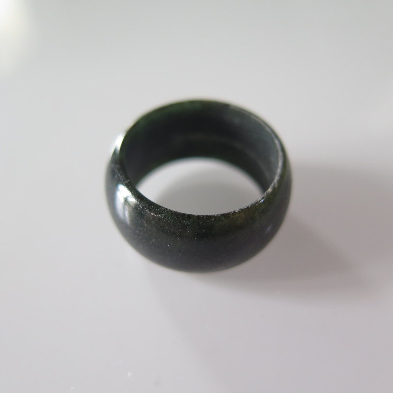 NATURAL JADEITE RING from BURMA....27.68cts...size 9