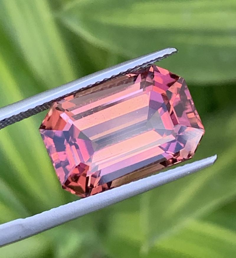 11.18 Carats Natural Red Color Tourmaline Gemstone