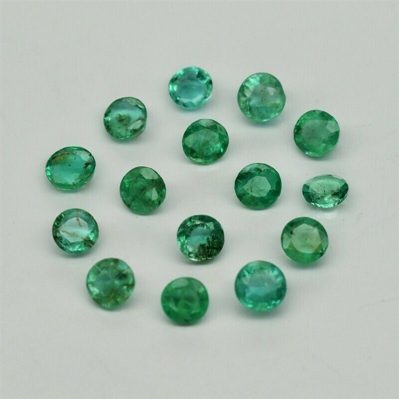 15 Columbian Emerald - 2.19 cts - 3 to 3.3 mm