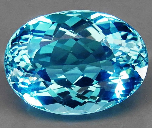 23.12 ct. 100% Natural Earth Mined Top Quality Blue Topaz Brazil