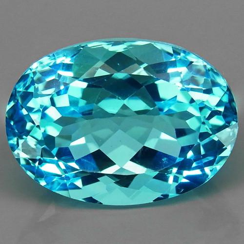 21.85 ct. 100% Natural Swiss Blue Topaz Top Quality Gemstone Brazil