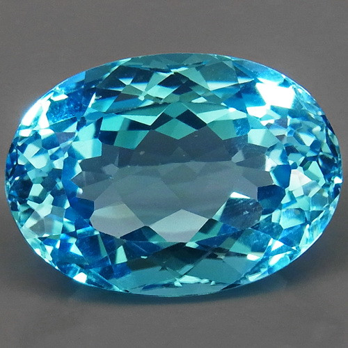 26.26 ct. 100% Natural Swiss Blue Topaz Top Quality Gemstone Brazil