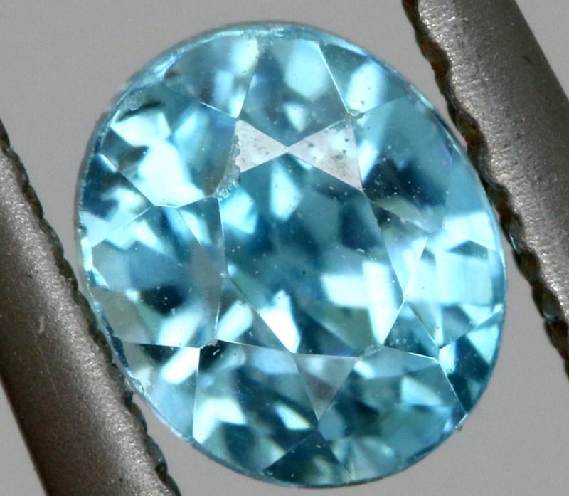 3.80 CTS NATURAL BLUE ZIRCON PARCEL PG-3156
