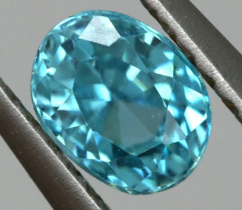 2.22 CTS VVS  BLUE ZIRCON FACETED PARCEL PG-3164
