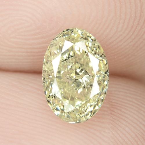 1.08 Cts Untreated Fancy Intense Yellow Natural Loose Diamond