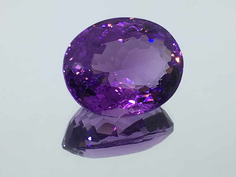 14.04 Carat VVS Amethyst Deep Purple Fabulous Quality!