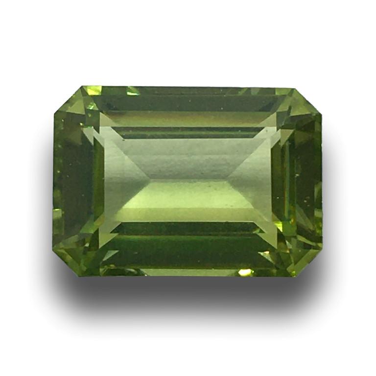Natural unheated Green Zircon| Loose Gemstone| Sri Lanka - New