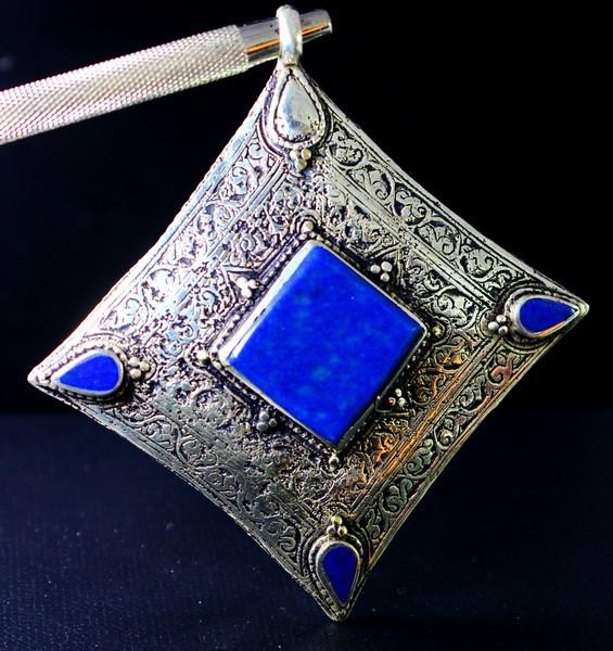 270  Cts Unheated & Natural ~Lapis Lazuli Pendant