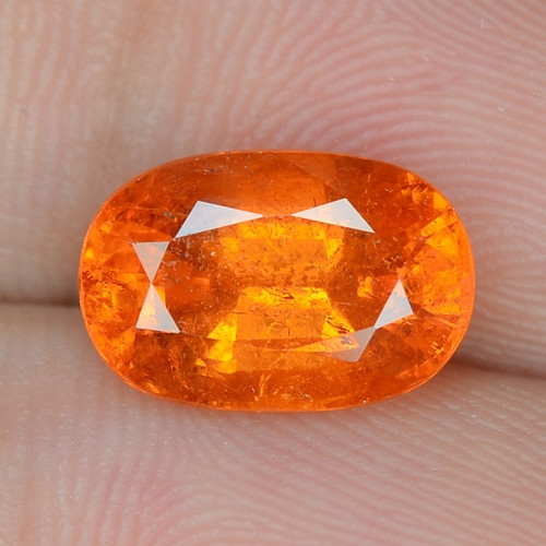 3.69 Cts Natural Fanta Orange Red Spessartite Garnet Loose Gemstone
