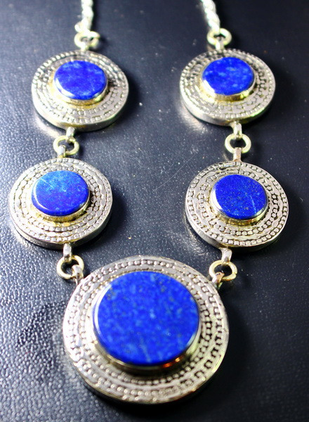 408.10 CT Natural - Unheated Blue Lapis Lazuli Necklaces