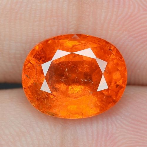 5.36 Cts Natural Fanta Orange Red Spessartite Garnet Loose Gemstone