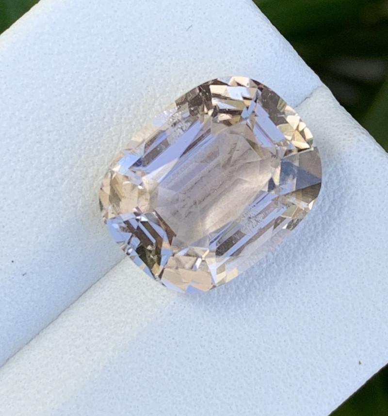 8.10 Carats Natural White Color Tourmaline Gemstone