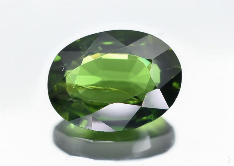 1.08 Crt Natural Chrome Tourmaline Faceted Gemstone.( AB 06)
