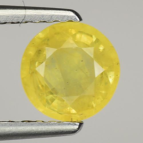 0.87 Ct Yellow Sapphire Top Quality  Gemstone. YS 15