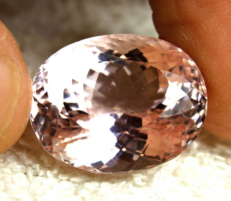 CERTIFIED - 45.73 Ct. Pink Brazil VVS1 Kunzite - Superb